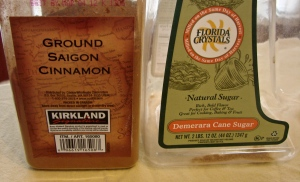 Cinnamon and pretending to be healthy sugar