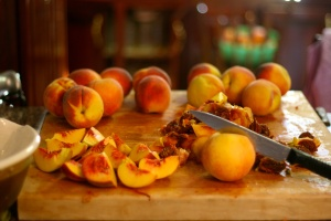 Processing Peaches