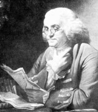 Benjamin Franklin Clerk of the Assembly
