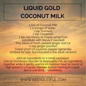 Liquid Gold Coconut Milk